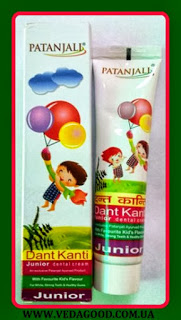 Зубная паста детская Патанджали \ Dant Kanti Junior Dental Cream, Patanjali