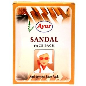 Маска для лица сандаловая \ Anti driness sandal face-pack \ Ayur